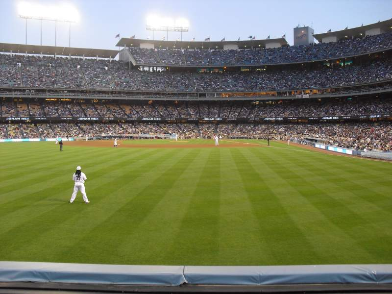 Seating view for Dodger Stadium Section 303PL Row A Seat 10