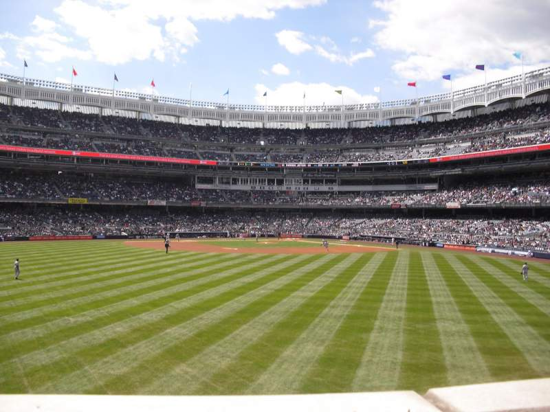 Seating view for Yankee Stadium Section 238 Row 1 Seat 23