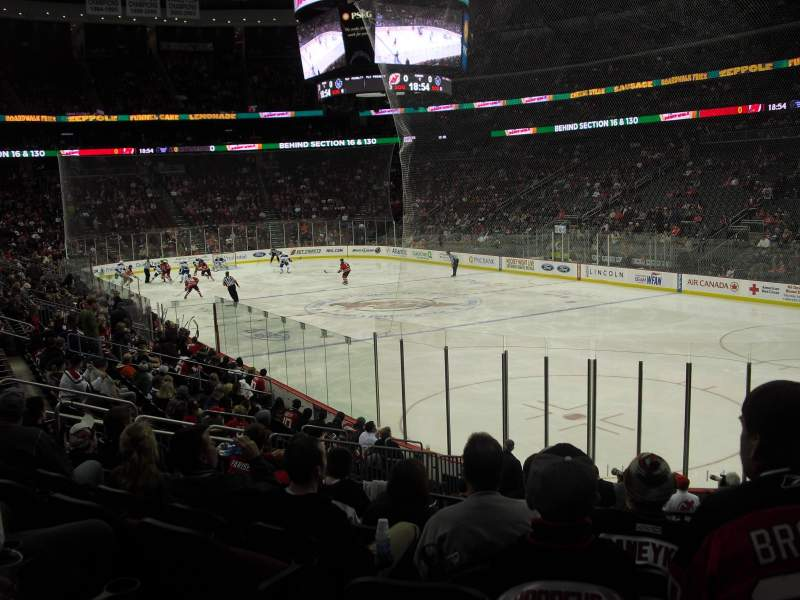 Seating view for Prudential Center Section 11 Row 15 Seat 2