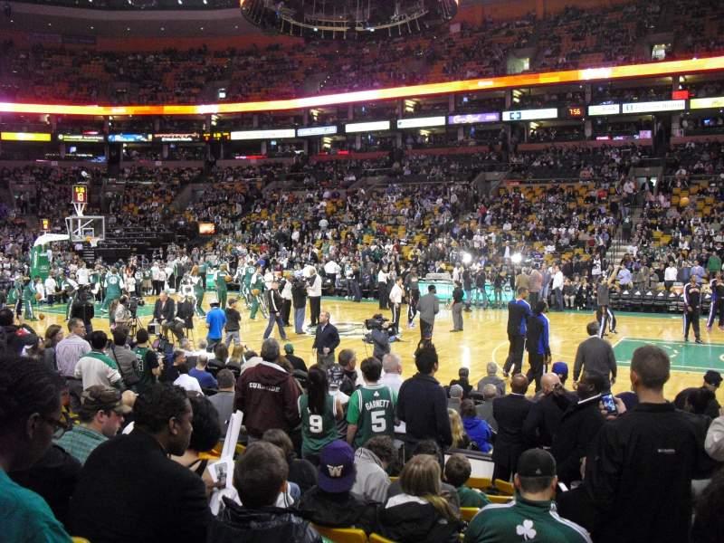 Td Garden Section Loge 11 Home Of Boston Bruins Boston
