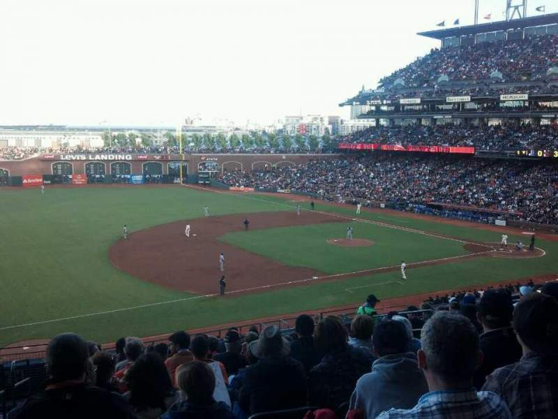 Seating view for AT&T Park Section 226 Row L Seat 11