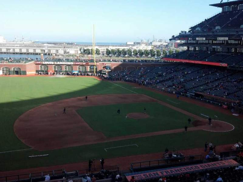 Seating view for AT&T Park Section Suite 45 Row A Seat 1