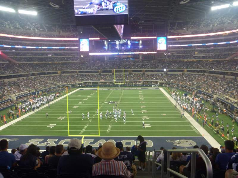 Seating view for AT&T Stadium Section 247 Row SRO