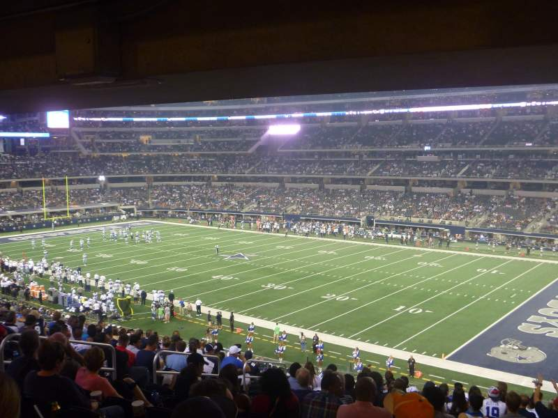 Seating view for AT&T Stadium Section 205 Row 15 Seat 14