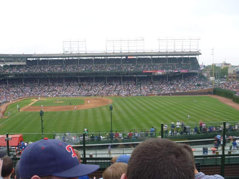 Seating view for Wrigley Field Section Ivy League Baseball Club Row GA