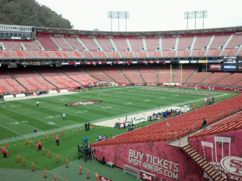 Seating view for Candlestick Park Section Suite C Row 1 Seat 1