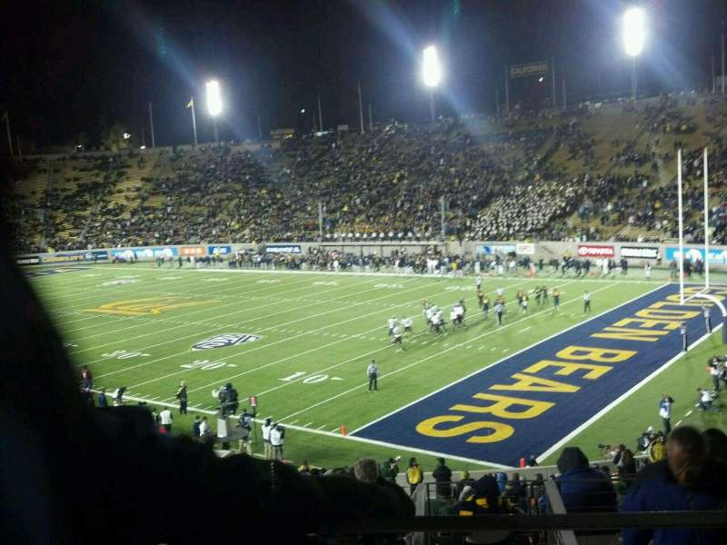 Seating view for California Memorial Stadium Section JJ Row 41 Seat 19