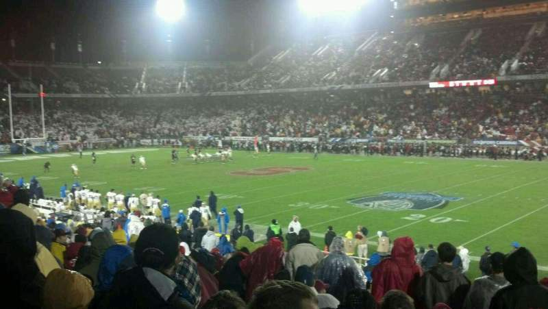 Stanford Stadium, section: 130, row: S, seat: 2