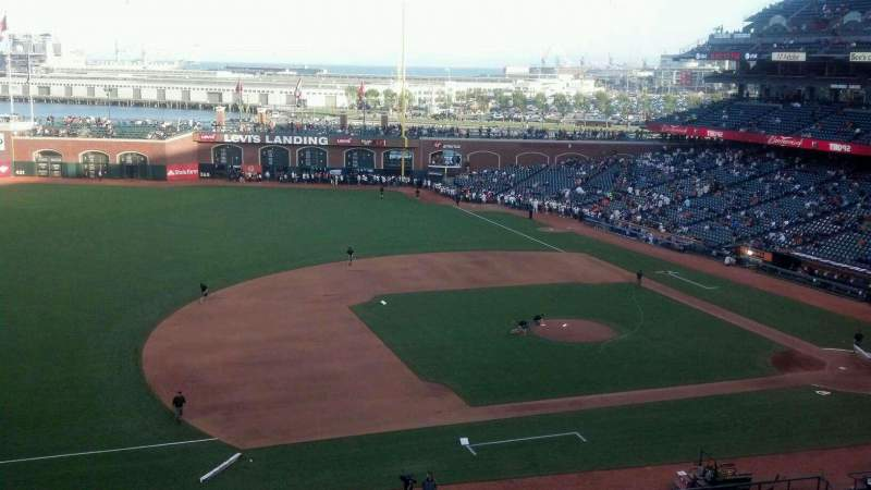 Seating view for AT&T Park Section Suite 45 Row 1 Seat 4