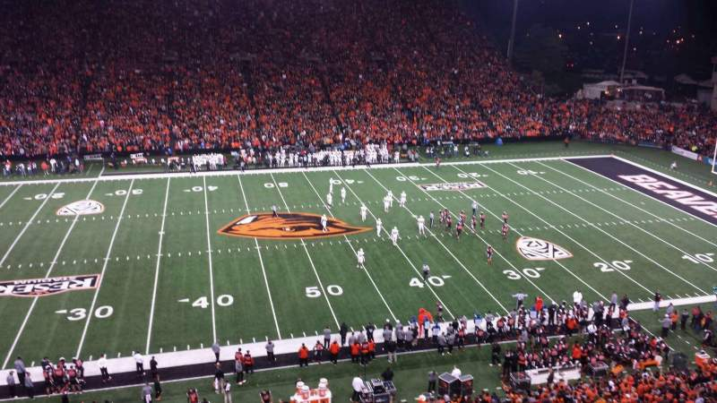 Seating view for Reser Stadium Section 217