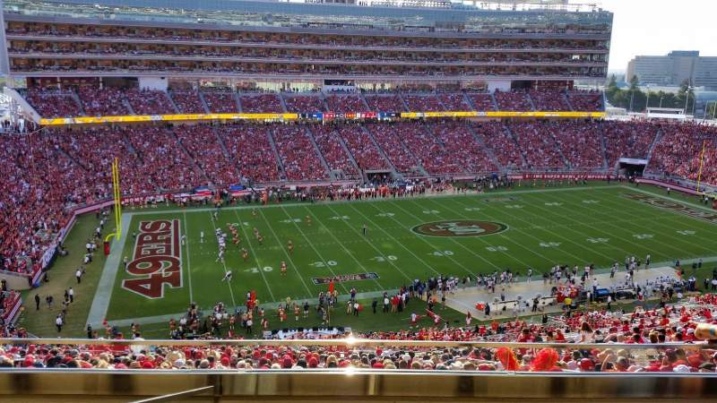Seating view for Levi's Stadium Section OC20 Row 2 Seat 17