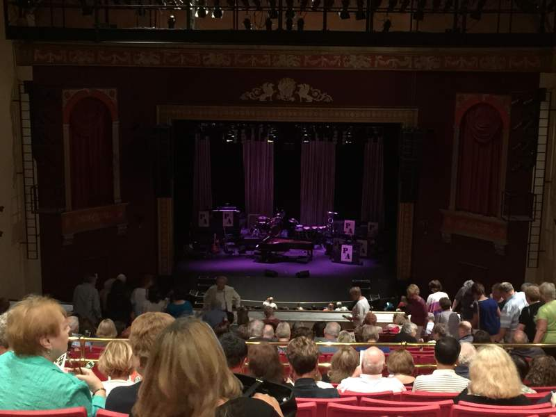 Bergen Performing Arts Center, section: Balcony Center, row: T, seat: 108