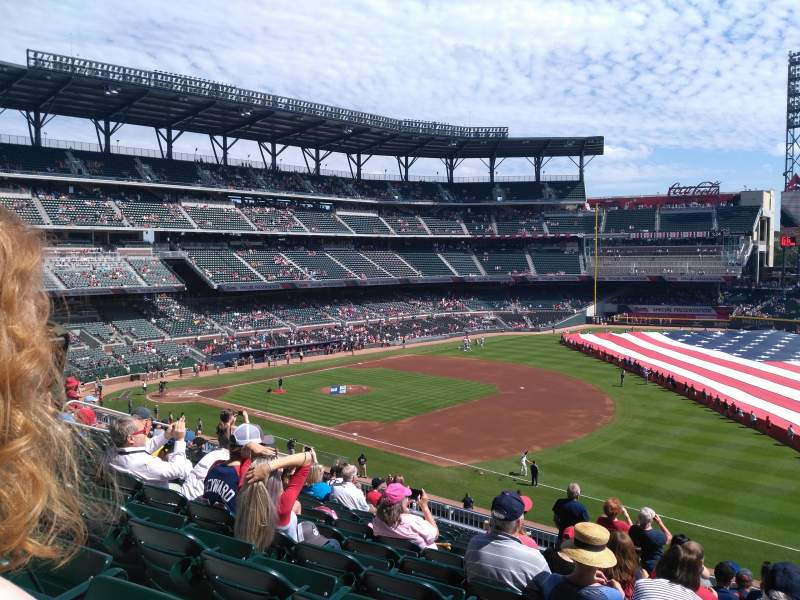 SunTrust Park, section: 215, row: 11, seat: 1