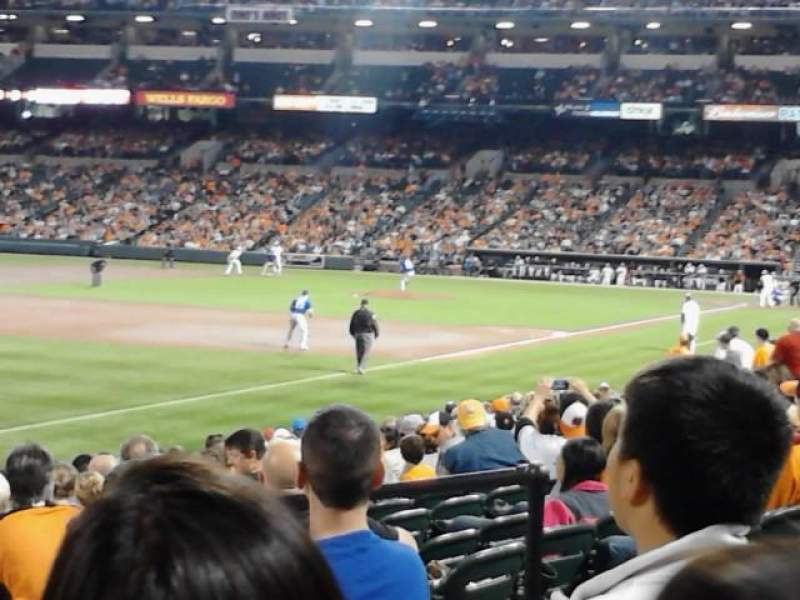 Seating view for Oriole Park at Camden Yards Section 66 Row 16 Seat 7