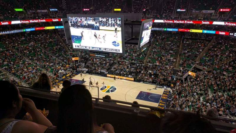 Vivint Smart Home Arena, section: 129, row: 8, seat: 14