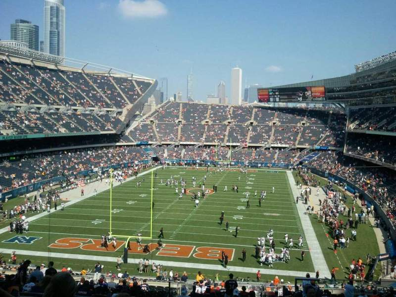 Seating view for Soldier Field Section 321 Row 9 Seat 20