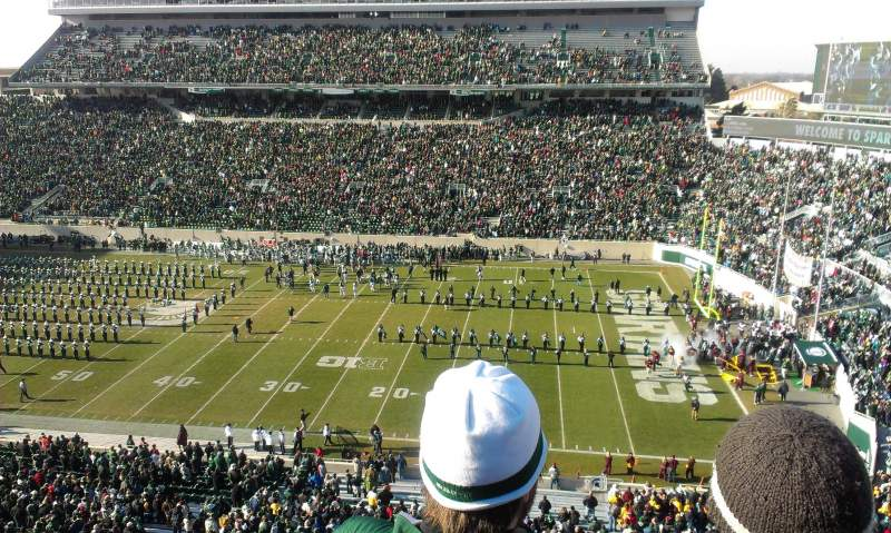 Seating view for Spartan Stadium Section 106 Row 3 Seat 25