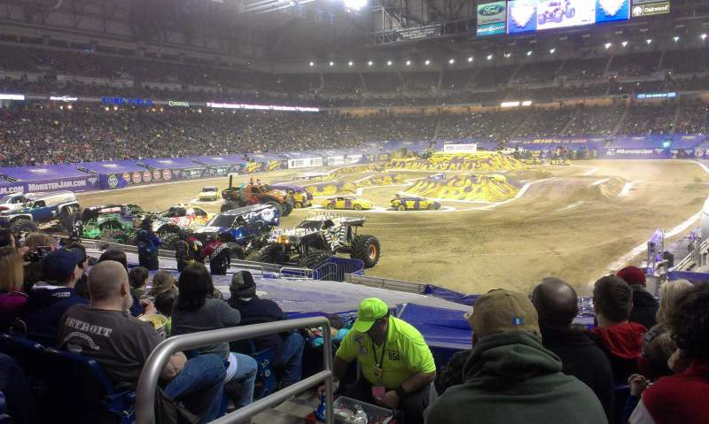 Seating view for Ford Field Section 141 Row 20 Seat 1