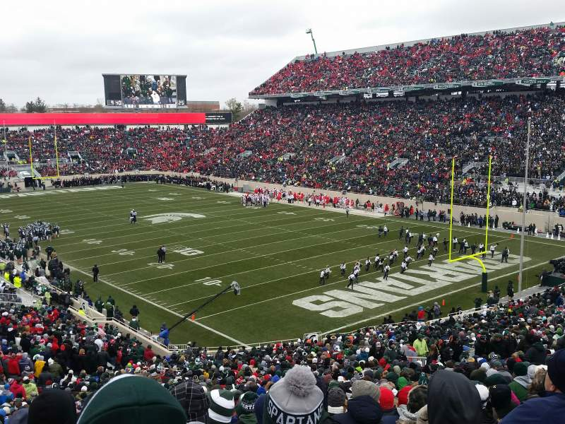 Seating view for Spartan Stadium Section 19 Row 55 Seat 21