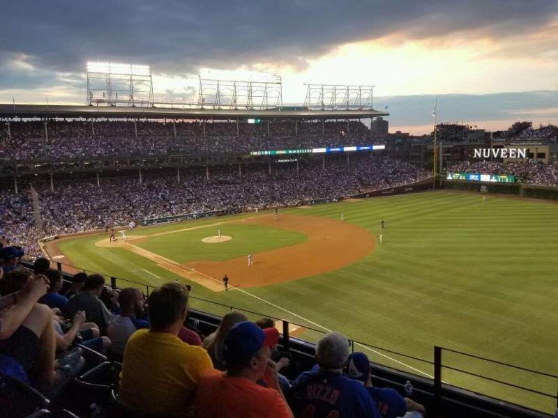 Seating view for Wrigley Field Section 330R Row 5 Seat 1