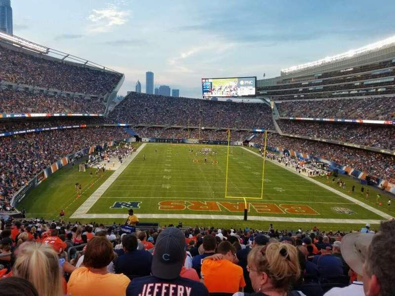 Seating view for Soldier Field Section 223 Row 22 Seat 6