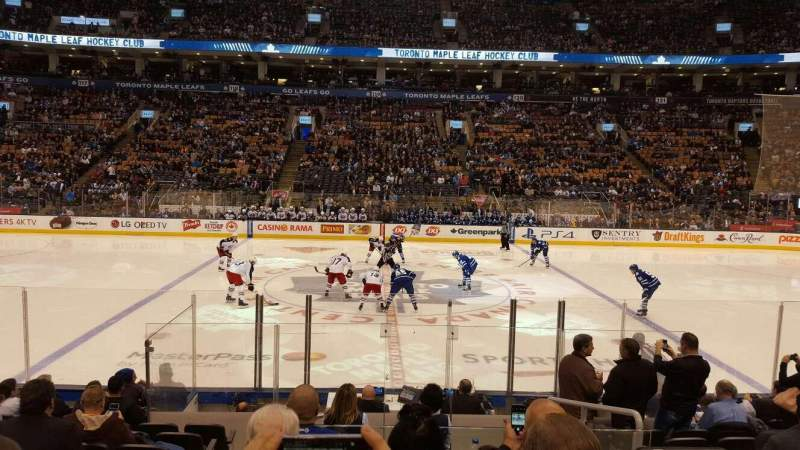 Seating view for Air Canada Centre Section 108 Row 11
