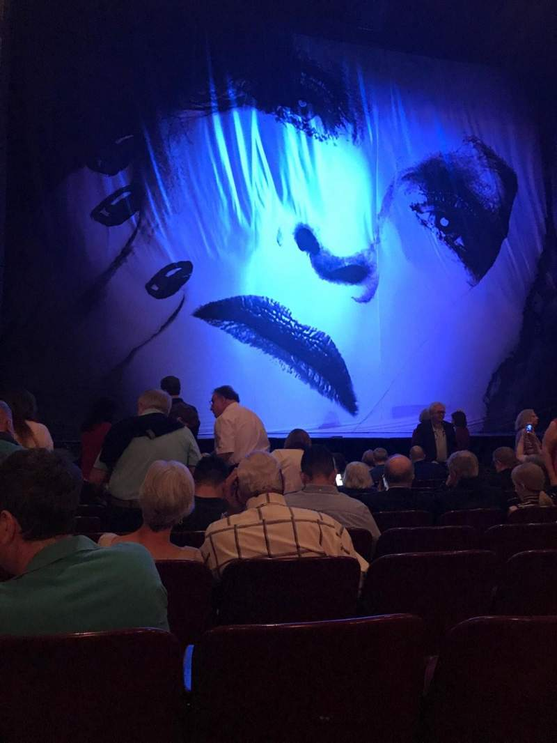 Seating view for Palace Theatre (Broadway) Section Orchestra Row K Seat 115