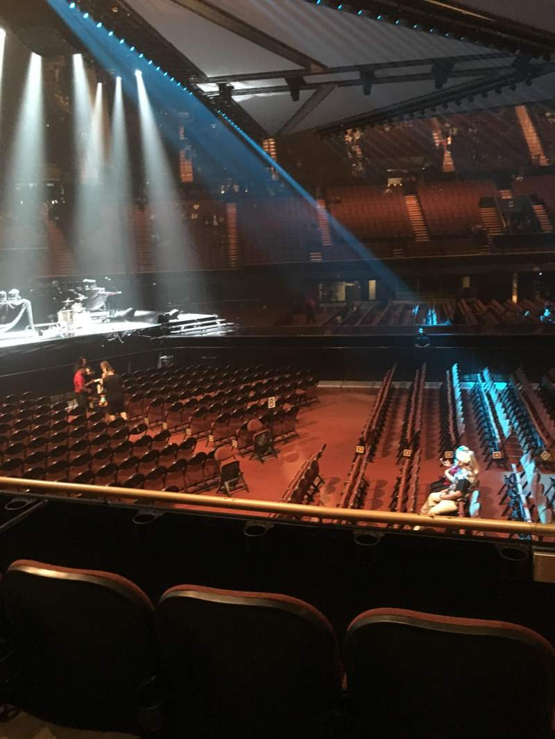 The Forum, section: 126, row: 3, seat: 3