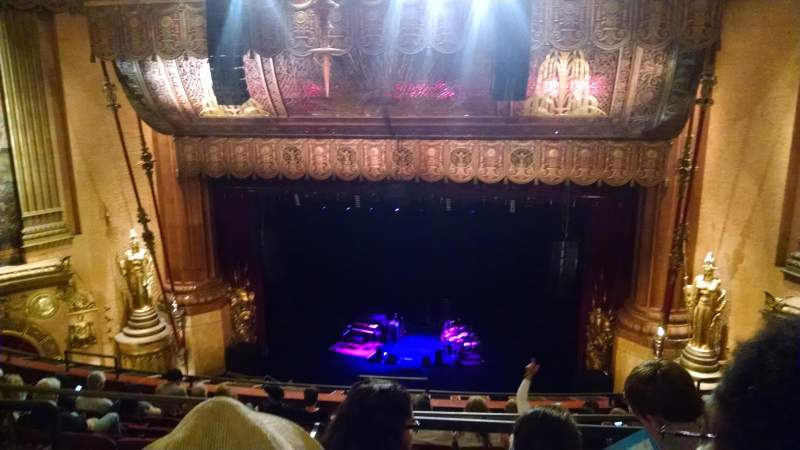 Beacon Theatre, section: Upper Balcony 2, row: H, seat: 4