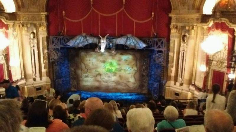 Seating view for Citizens Bank Opera House Section Mezzanine Row L Seat 112