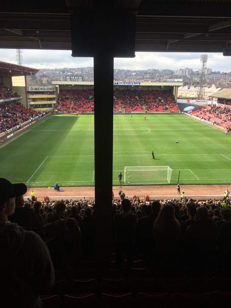 Seating view for Oakwell Stadium Section NS4 Row UU Seat 90