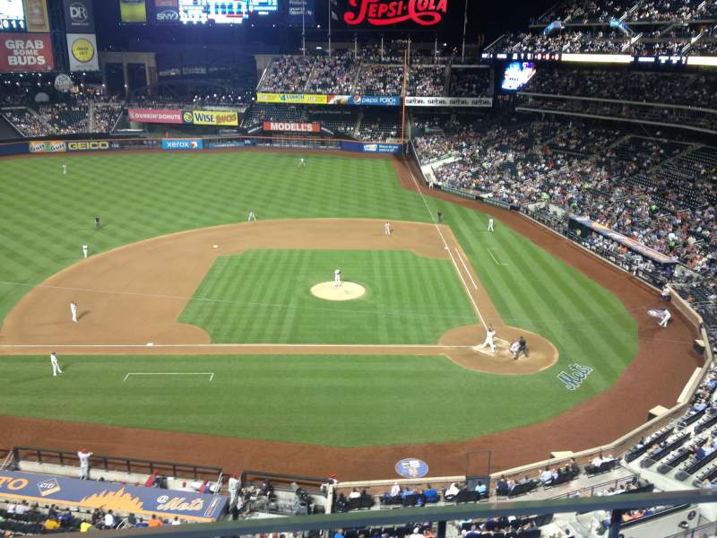 Seating view for Citi Field Section 420 Row 2 Seat 11