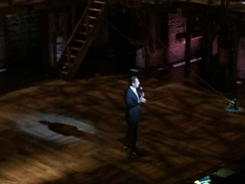 Richard Rodgers Theatre, section: Front Mezz, row: B, seat: 27