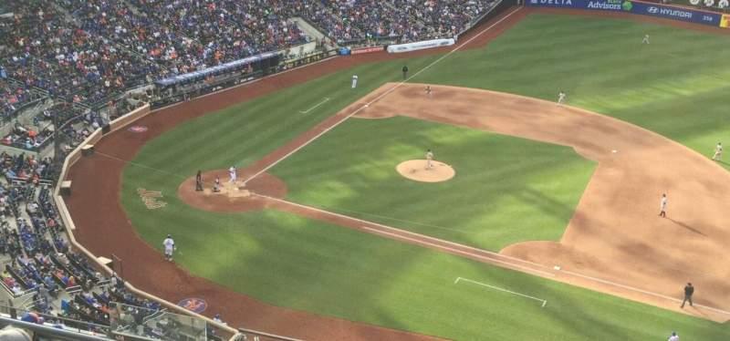 Citi Field, section: 507, row: 1, seat: 19, 20, 22