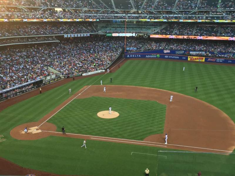 Seating view for Citi Field Section 408 Row 4 Seat 23