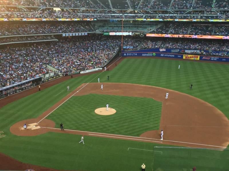 Citi Field, section: 408, row: 4, seat: 23