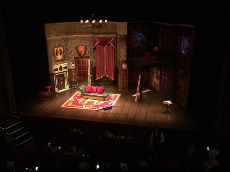 Seating view for Lyceum Theatre (Broadway) Section Mezzanine Row C Seat 101