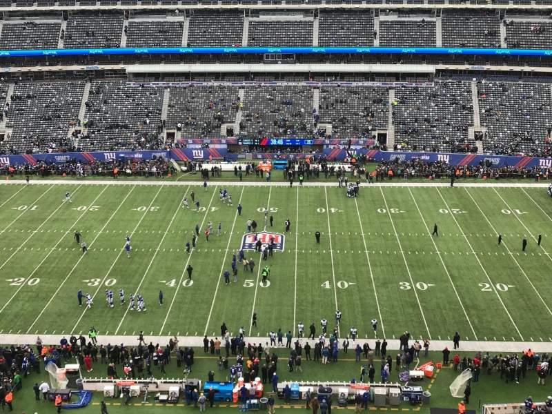 MetLife Stadium, section: 313, row: 5, seat: 15