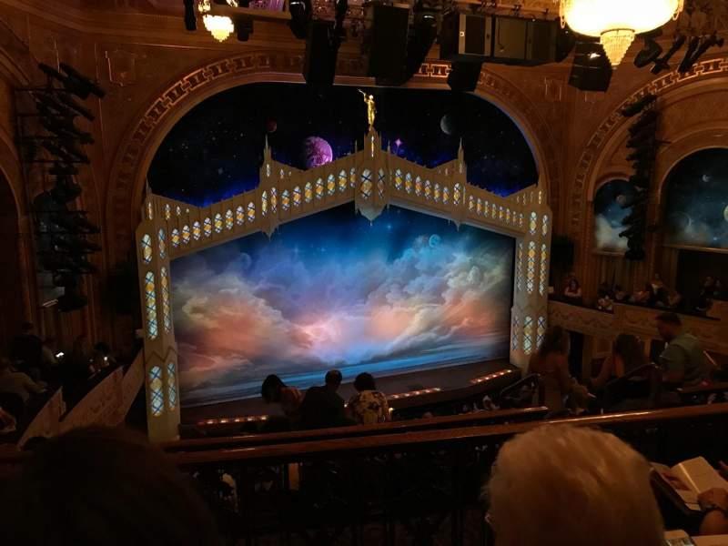 Eugene O'Neill Theatre, section: MEZZL, row: G, seat: 127