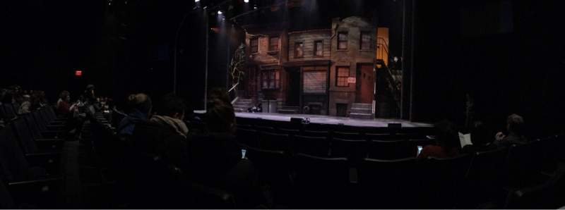 Seating view for New World Stages - Stage 3 Section Orch Row E Seat 120