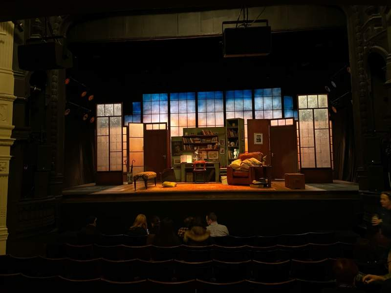 Seating view for Ambassadors Theatre Section Stalls Row J Seat 10