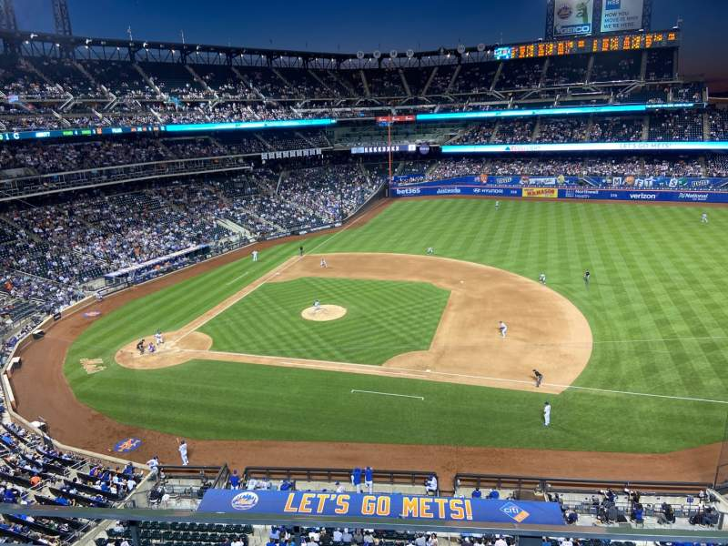 Seating view for Citi Field Section 407 Row 2 Seat 12