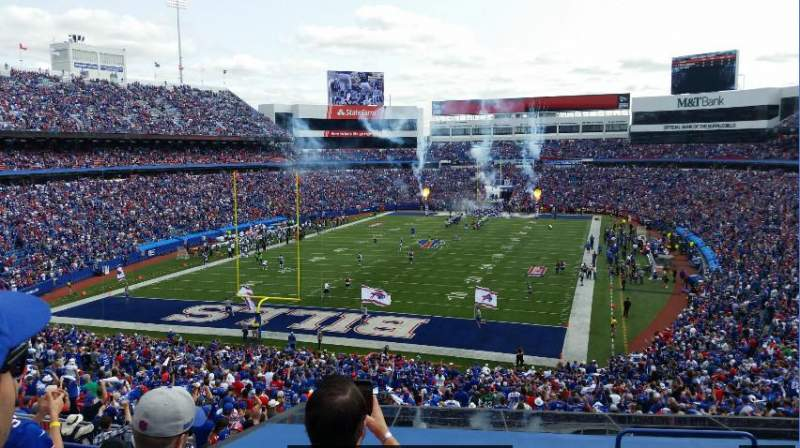 New Era Field, section: 243, row: 8, seat: 3