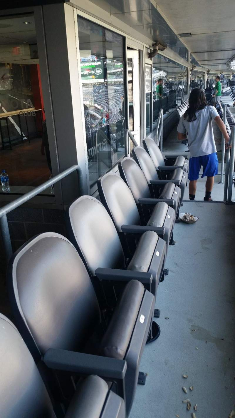 Seating view for Metlife Stadium Section 232C Row 14 Seat 3