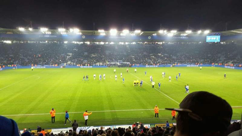 Seating view for King Power Stadium Section J1 Row X Seat 193