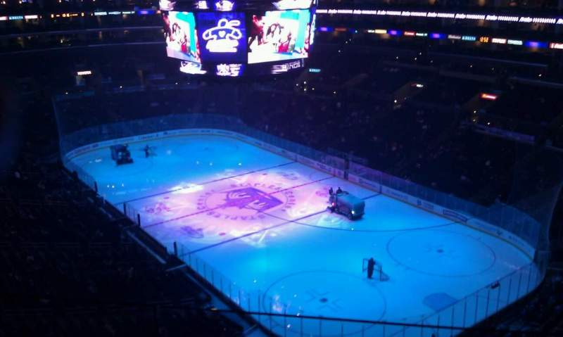 Seating view for Staples Center Section 330 Row 2 Seat 7