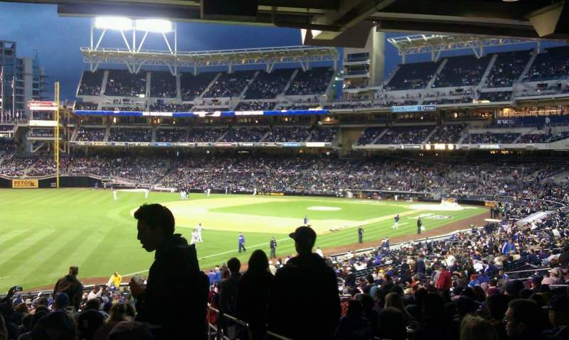 Seating view for PETCO Park Section 122 Row 42 Seat 1