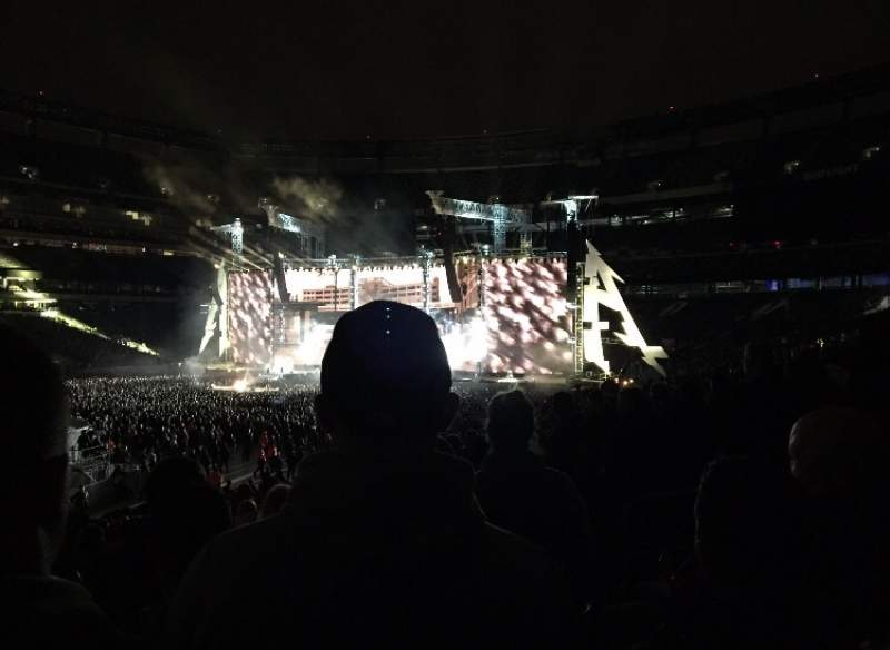 Seating view for Metlife stadium  Section 117