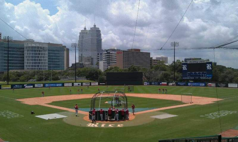 Seating view for Reckling Park