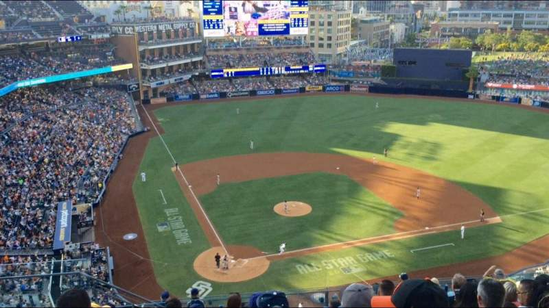 Seating view for PETCO Park Section 305 Row 16 Seat 1